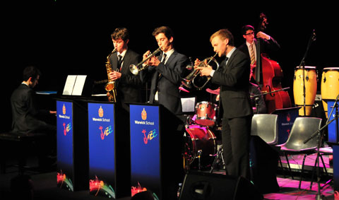 Warwick School Jazz Combo!
